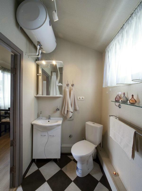 Ванная комната в мобильном доме