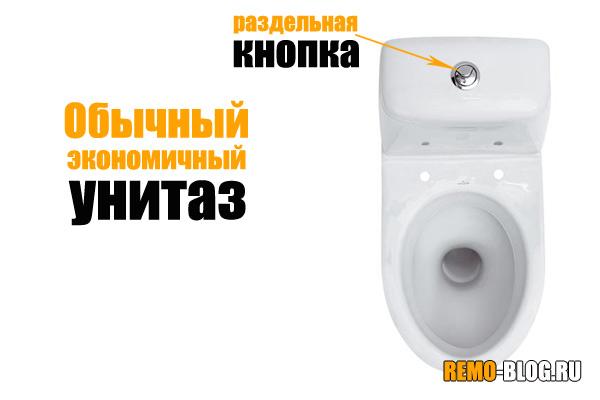 Экономичный унитаз wostman ecoflush купить аск сантехника