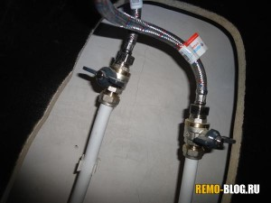 подключаем гибкие шланги, фото 2
