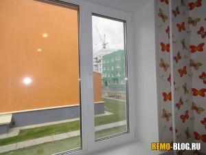 створка окна