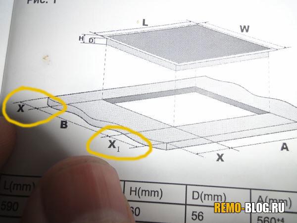 размеры X и X1, фото 2