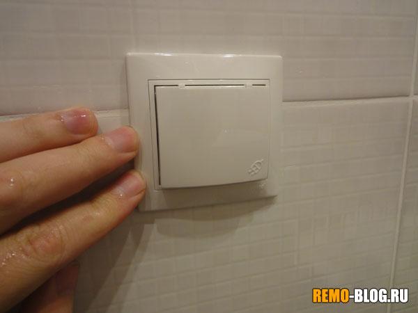 розетка в ванной, фото 2
