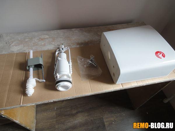 водозапорный клапан и система слива