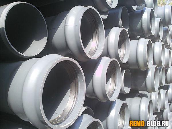 Трубы из непластифицированного поливинилхлорида