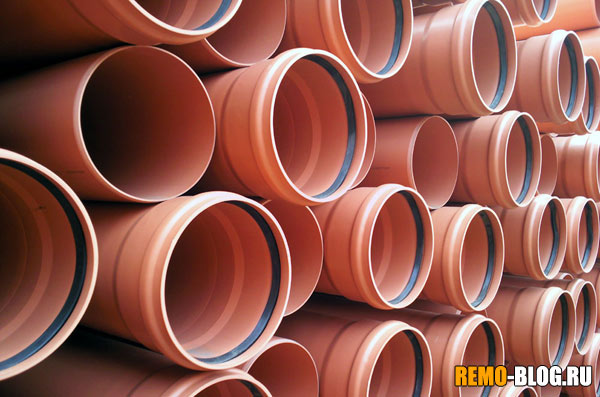 Трубы из поливинилхлорида
