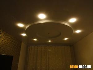 Лампы при включенном состоянии