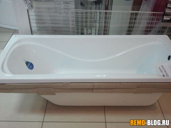 Обычная прямая ванна
