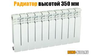 Радиатор 350 мм