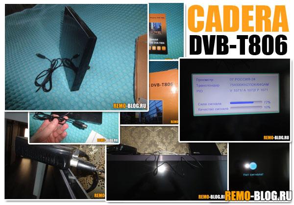 CADERA DVB-T806