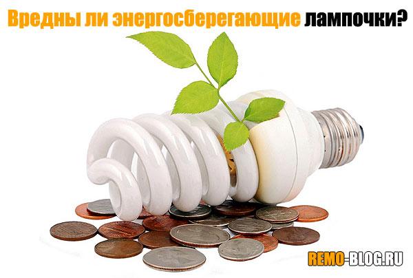 Вредны ли энергосберегающие лампочки