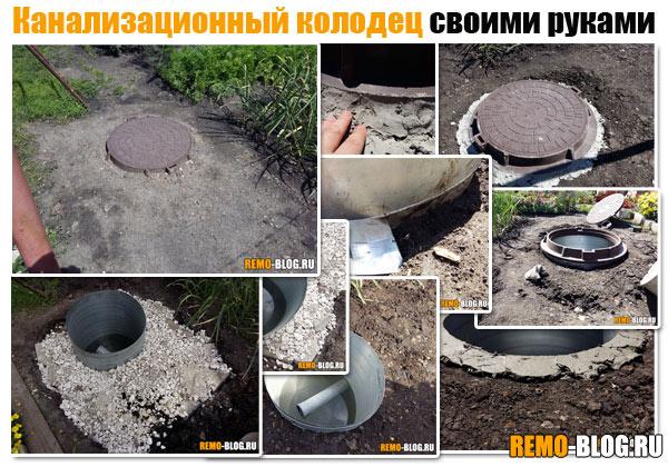 Крышка для канализационного колодца своими руками 972