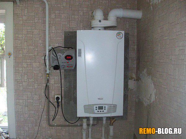 отопление газом
