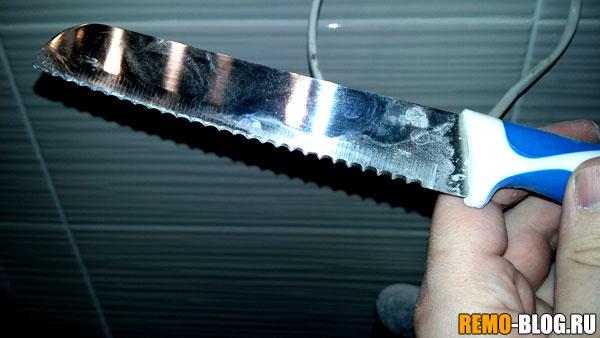 Обычный нож